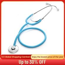 السماعة الطبية الأساسية المهنية رئيس واحد سماعة القلب الطبيب الطبيب البيطري ممرضة معدات طبية