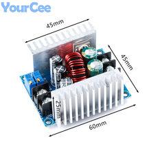 300w 20a DC-DC step down buck conversor módulo de tensão de corrente constante cc cv led driver módulo de potência capacitor eletrolítico