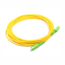 10 шт. волоконно-оптический патч-кабель SC/APC-SC/APC SM G657A2 Simplex 3,0 мм LSZH волоконно-оптический патч-корды соединительный кабель