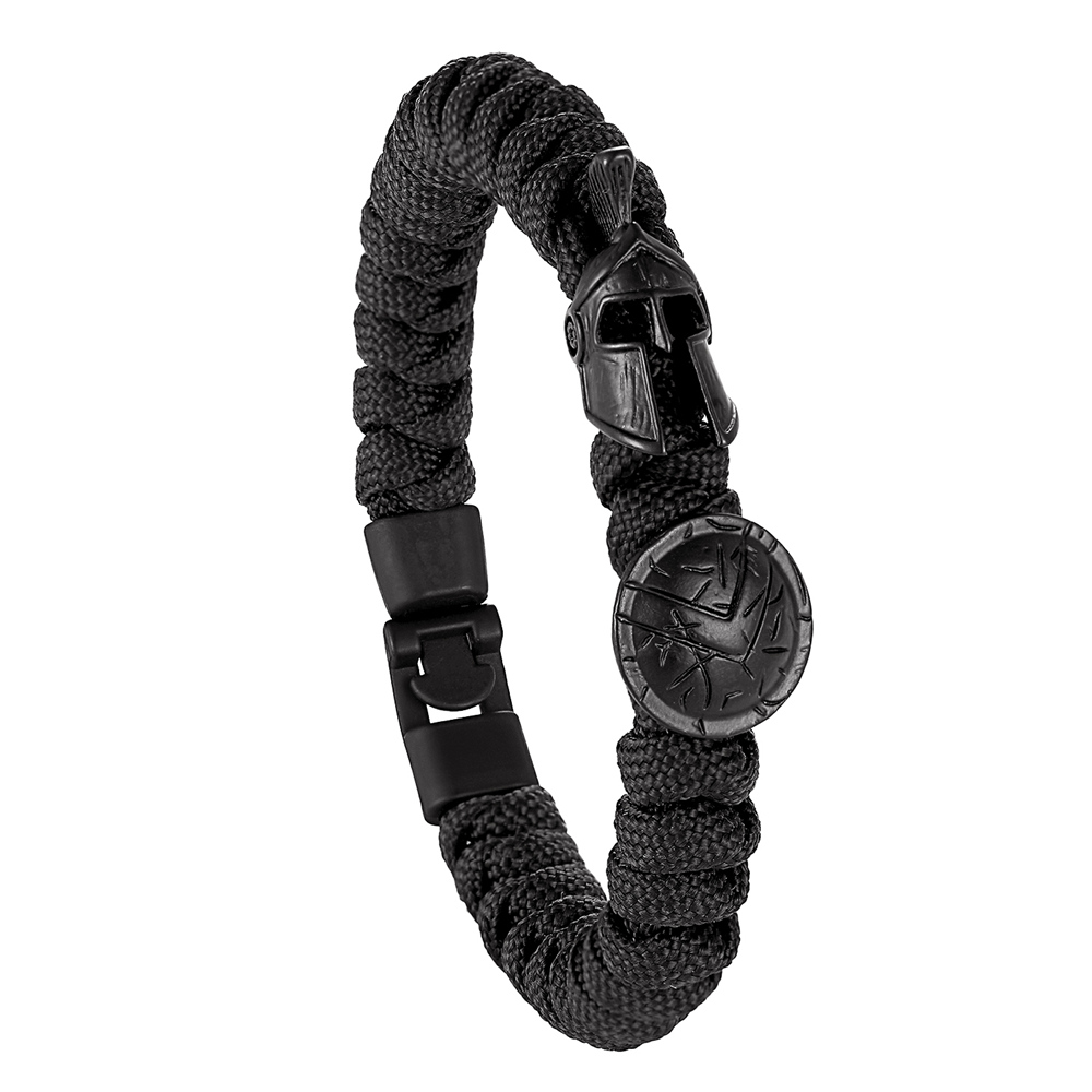 2020 Popular Men Bracelet/Sparta Warrior Luxury Camping Outdoor Survival Handmade Rope Bangles Vintage Women Bracelets Pulseira