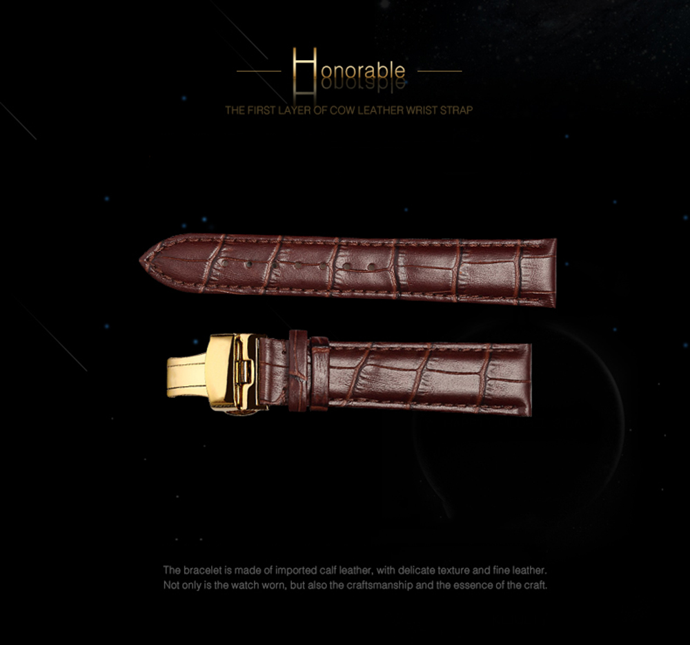 Guanqin tourbillon relógios mecânicos homens relógio original