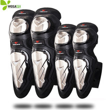 WOSAWE Protective Knee Pads Ski Skateboard Elbow Support Sets Motorcycle Hockey Roller Off-Road Bike Sports MTB Protector