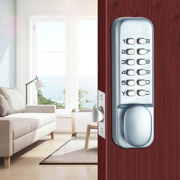 Digital Smart Electronic Password Lock Ourdoor Password Wood Door Lock Office Door Lock Security Alarm Lock