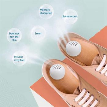 10 sztuk zestaw do czyszczenia butów odświeżacz dezodorant suchy dezodorujący oczyszczacz powietrza przełącznik piłka buty eliminator zapachu piłki do butów tanie i dobre opinie Shoes Deodorant Ball Bezzapachowa