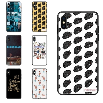 Tv Riverdale Inspired For Galaxy A10S A20 A20S A20E A21S A30 A30S A40 A50 A70 A71 A70E A5 A6 A7 A8 A10 Black Soft TPU Screen image