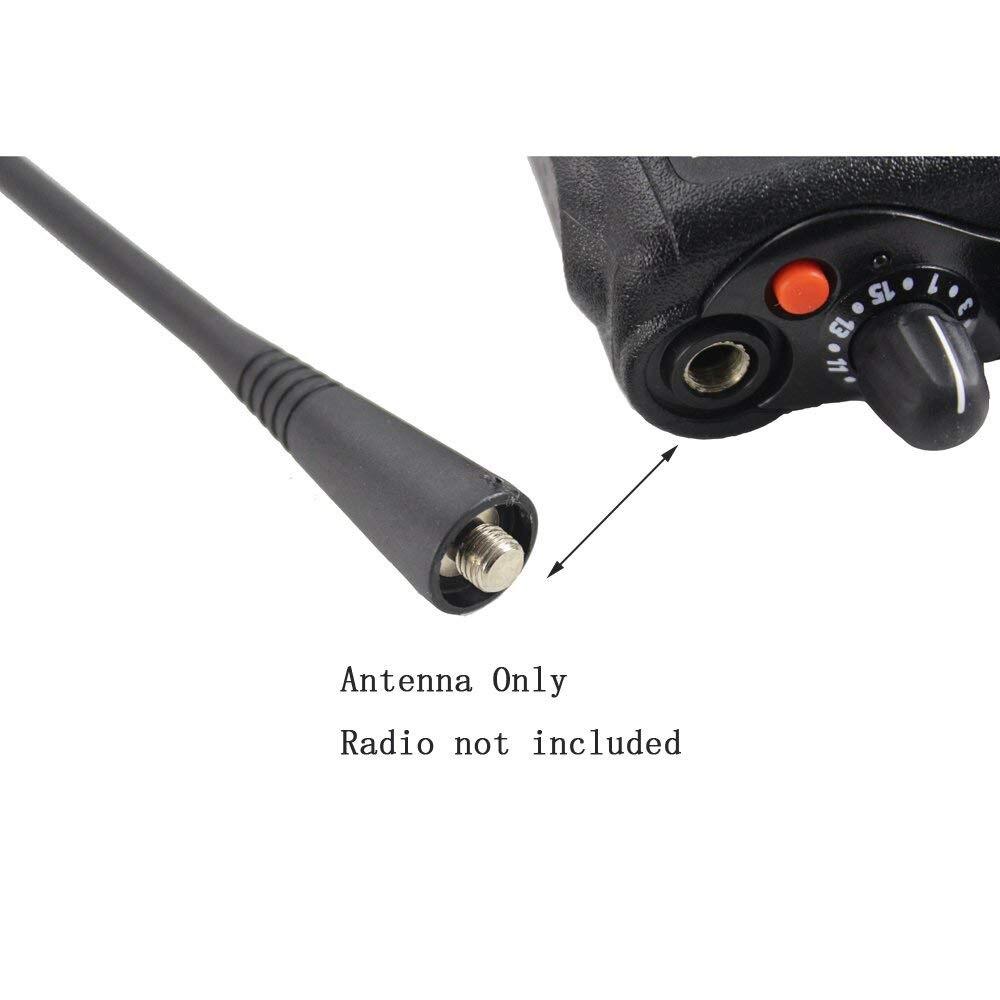 10x UHF Whip Antenna for Motorola HT10 HT50 HT600 HT1550 Portable Radio NAE6483
