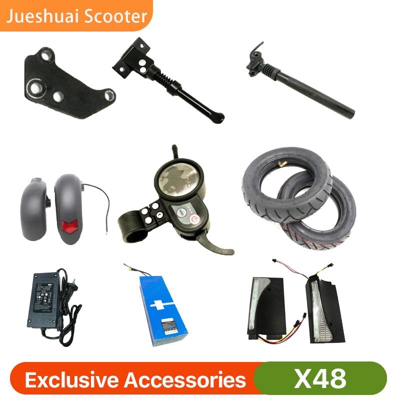 Scooter elétrico x48 acessórios exclusivos 800w 48v26a carregador de bateria controlador pneu fender exibir disco pastilhas freio espigão