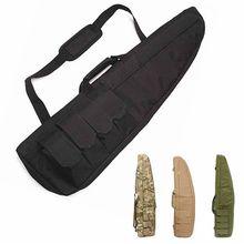 Camo Bag 98cm Tactical Hunting Rifle Shooting Gun Bag War Game Military Paintball Combat Airsoft Holster Gun Bag Air Rifle Case