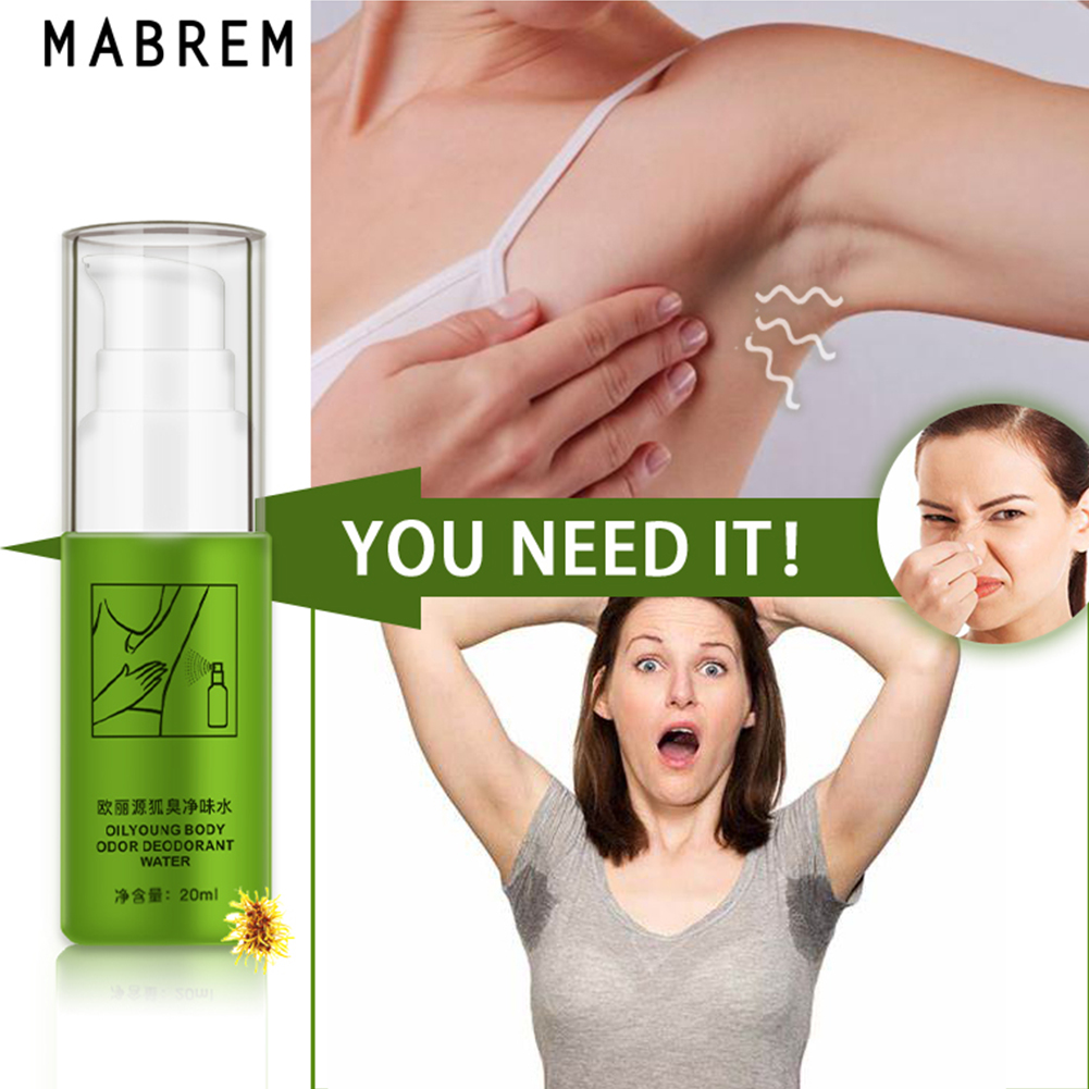 20ml Underarm Smell Removal Home Armpit Therapy Deodorant Water Body Odor Spray Antiperspirant Daily Purification Adult Refresh
