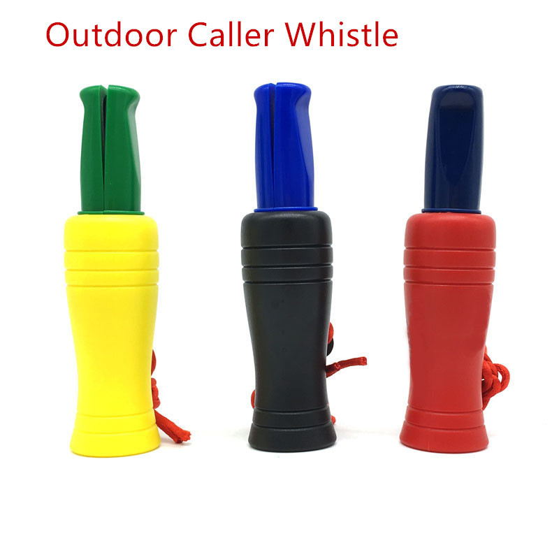 New Hunting Decoy Caller Whistle Duck Call Game Rook Hunter Special Bionic Duck Decoy Hunting Caller Whistle Big Sound 11*3cm
