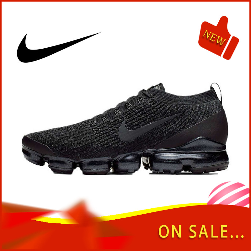 Original Authentic Nike AIR VAPORMAX FLYKNIT 3 Men's Running Shoes Classic Outdoor Sports Shoes Breathable Comfort AJ6900-004