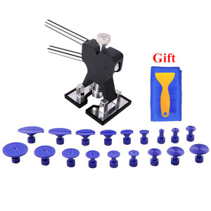Image 4 - Tools Paintless Dent Repair Tools Set Dent Lifter Glue Tabs Auto Body Dent Removal tools Car Dent Removal free gift