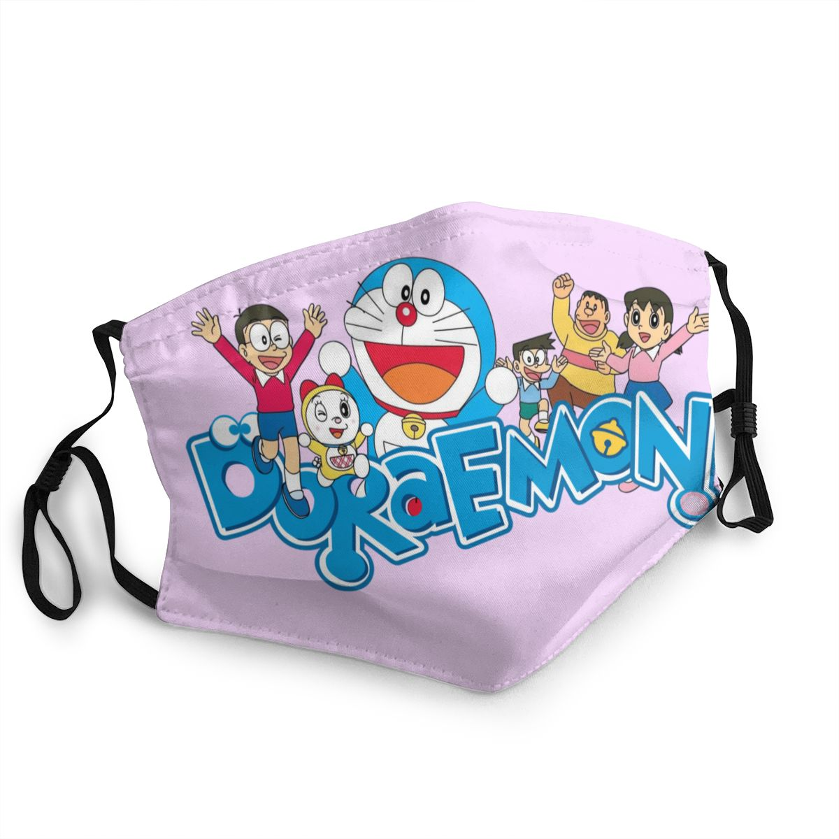 Doraemon Reusable Mouth Face Mask Anti Bacterial Dustproof Mask Protection Mask Respirator Mouth Muffle