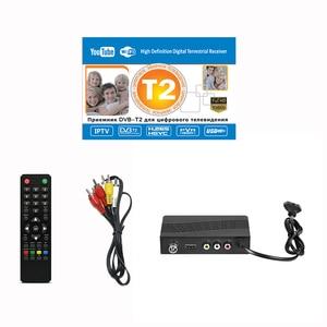 Image 5 - DVB T2 тюнер приемник HDMI HD 1080P спутниковый декодер тв тюнер DVB T2 DVB C USB встроенное руководство на русском языке для адаптера монитора