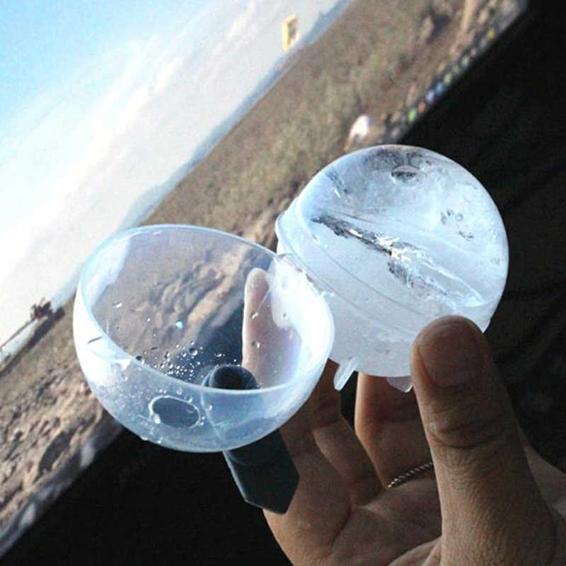 1/2/4/6 pces 5cm bola moldes de gelo esfera redonda cubo de gelo fabricantes casa e bar festa cozinha cocktail diy moldes de sorvete