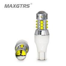 Lâmpadas de led cree extreme brilhante, 2x t15 w16w 921 912 70w, drl, luz de estacionamento fonte de luz de parada reversa