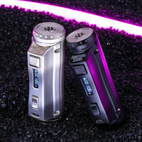 Original Ehpro Cold Steel 100 120W TC Box MOD 1.8A Micro USB Charging with 0.0018S Ultrafast Firing Speed Firmware Upgradeable