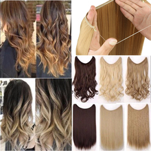 Long Hair Pieces Synthetic Heat Resistant