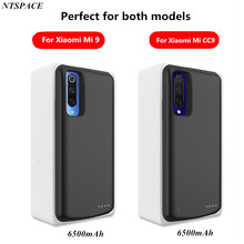 Portable Power Bank 6500mAh Battery Charger Cases For Mi CC9 Backup Charging Case For Xiaomi CC9 External Battery Case Coque
