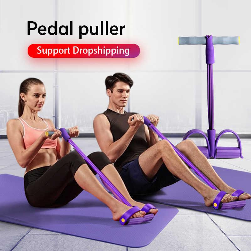 1X Fitness Elastico Sit Up Pull Corda Addominali Sport Palestra Allenamento