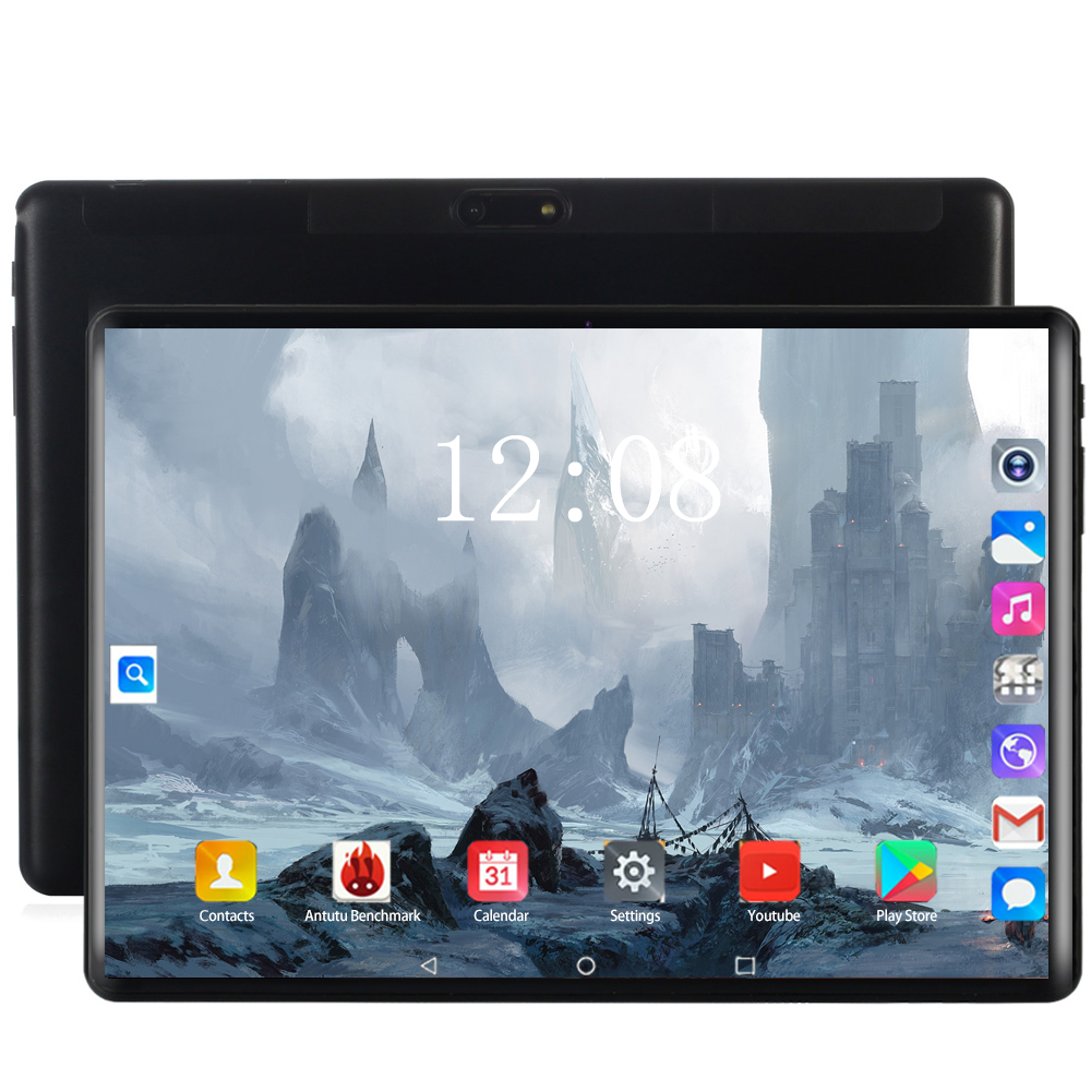 2020 4G LET Phone Call Tablet Pc 10.1 Inch Tablet Android 8.0 Octa Core RAM 6GB ROM 128GB Dual SIM Card 1280*800 IPS WIFI Tablet