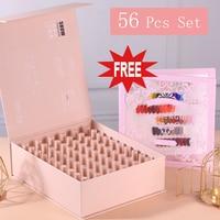 2020 Fast Shipment VIP Kits of Nail Gel Polish 56pcs/lot Gel Varnish Soak Off UV LED Nail Gel Color Palette Gel Lacquer