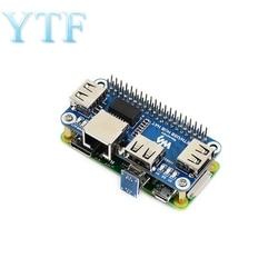 Raspberry Pi 4B/Zero W USB для Ethernet RJ45 сетевой порт usb-хаб концентратор разветвитель