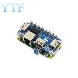 Raspberry Pi 4B/Zero W USB to Ethernet RJ45 Network Port USB HUB Hub Splitter