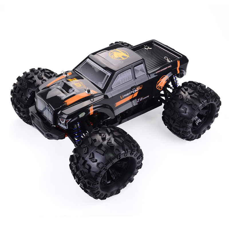 ZD MT8 Pirates3 RC Car 1:8 2.4Ghz 90km/h Radio Control Car Brushless Motor Racing OFF-Road Car Big Foot Car Toys For Children