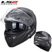 LS2 FF390 original full face Motocycle helmet KPA Breaker Chrome-plated helmet helmet ECE approval