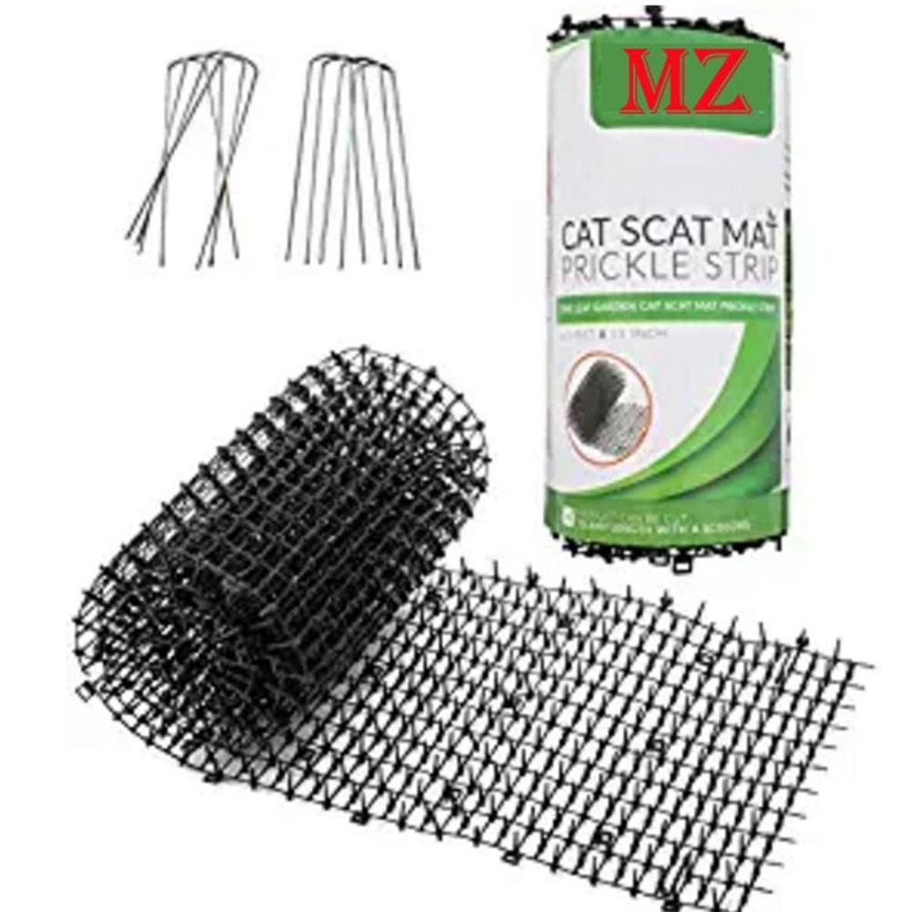 Зеленые садовые пластиковые антикожные кошечки для кошек и собак, противомоскитные репелленты, пластиковые накладки для ногтей, кошечки для кошек и собак, пластиковые шпильки Садовая сетка      АлиЭкспресс