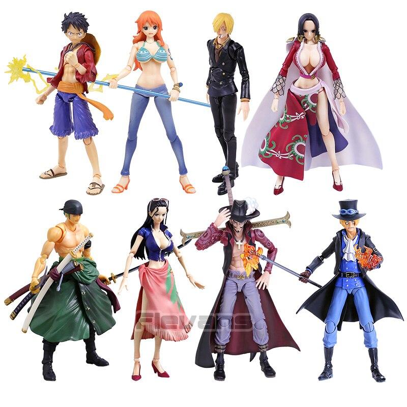 Anime Figma One Piece Movable Variable Boa Hancock Action PVC Figure New No Box