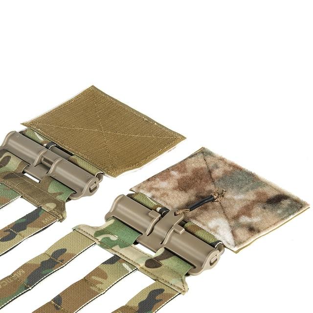 Набор тактических скелетных трубок с быстроразъемной пряжкой