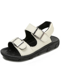 Boys Sandals New 2019 Summer Toddler Kids Shoe Pu Leather Childrens for School Flat Beach Size 21-31