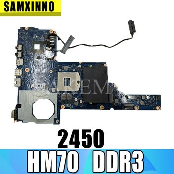 685783-001 685783-501 6050A2493101-MB-A02 For HP 2450 1000 2000 CQ45 Laptop Motherboard HM70 UMA DDR3