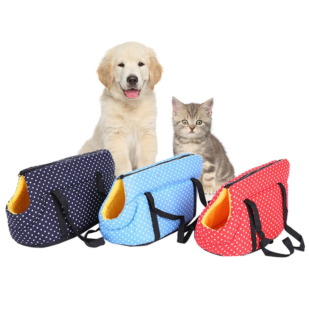 Portable Pet Carrier Bag Machine-washable Pet Bag Soft Pouch And Tote Design For Puppy Small Dogs Cats For Outdoor Travel