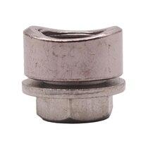 O2 lambda boss escape m18x1.5 304 solda de aço inoxidável no sensor de oxigênio|Peças de montagem| |  -