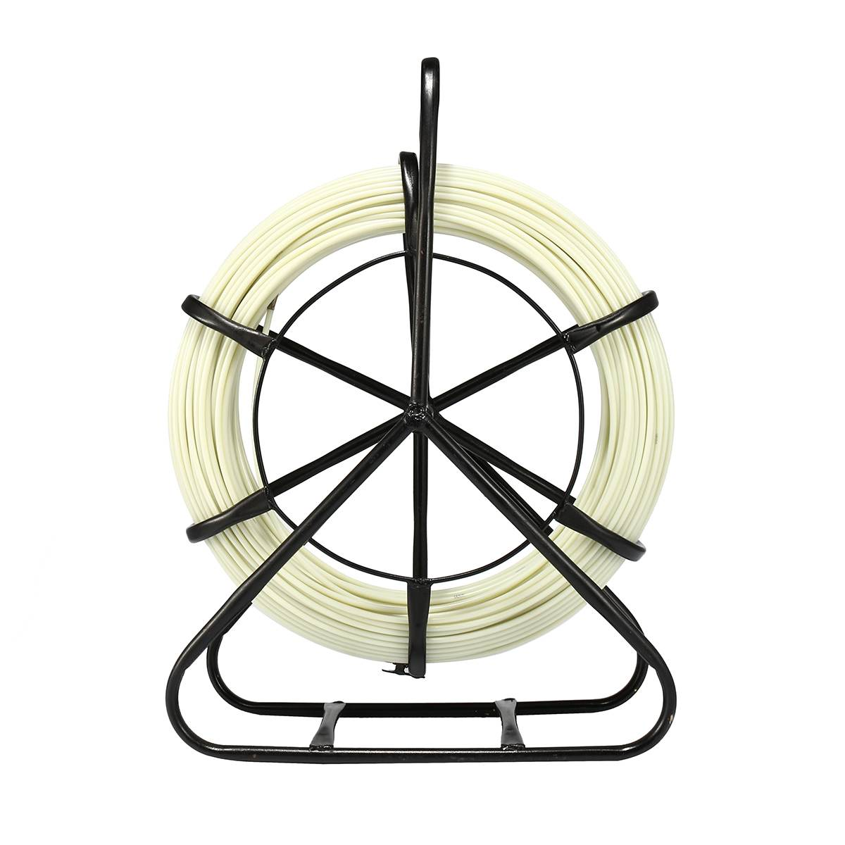 4,8 мм 100 м Рыбная лента Стекловолоконная катушка провод кабель ходовой шток канал Rodder Fishtape Съемник