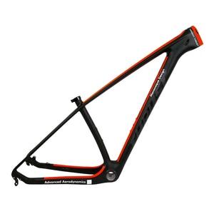 Carbon Mountain Bike Frame 29er THRUST Chinese Carbon mtb Bicycle Frame T1000 Carbon Fibre Frame Bike 29er carbon frame 27.5er(China)