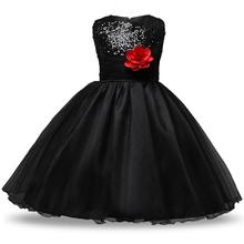 Princess Dress Girl Clothes Wedding Party Costume Sequin Flower Girl Kids Dresses for Girls Bridesmaid Tutu Dress Elegant Gown все цены