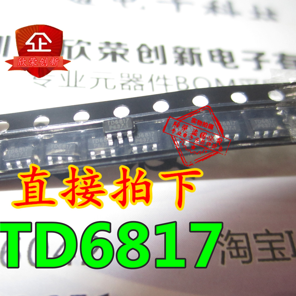 10pcs/lot TD6817 SOT-23-5 In Stock