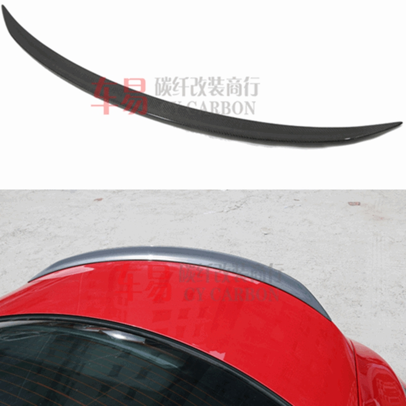 For Mercedes-Benz CLA W117 CLA180 CLA200 <font><b>CLA250</b></font> CLA260 Carbon Fiber Rear Trunk Wing <font><b>Spoiler</b></font> CLA45 AMG Style 2014 - UP image