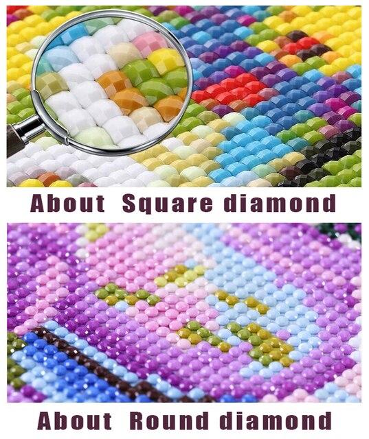 5d diy diamond painting twilight edward bella pattern full square vampire werewolf movie 3d round diamond mosaic sticker