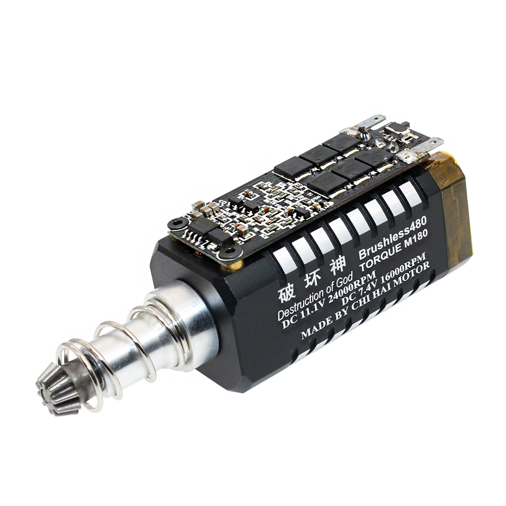 BLDC 480 Water Bomb Brushless DC Motor With Long Shaft With Drive