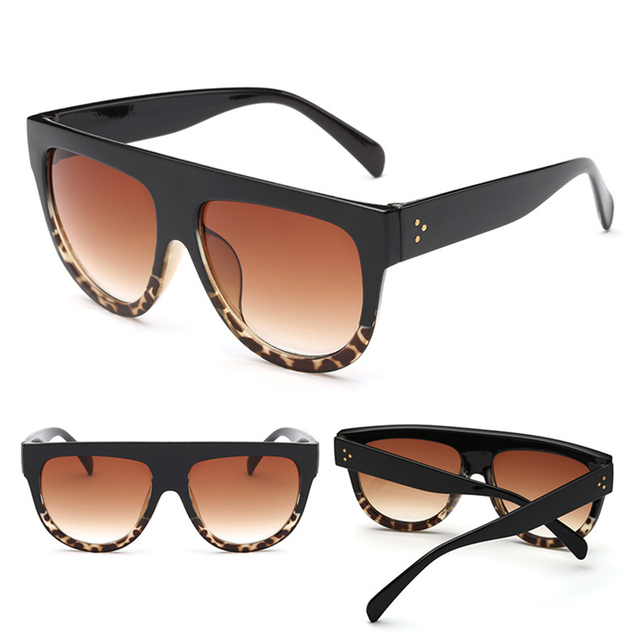 LeonLion Retro Sunglasses Women 2019 Vintage Glasses For Women Big Sunglasses Women Luxury Brand Mirror Oculos De Sol Feminino 8