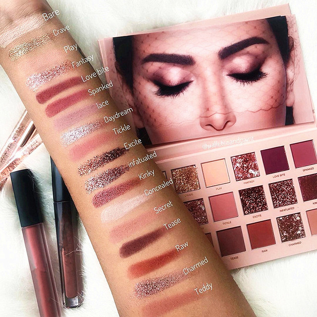 Eyes Dancing Nude Eyeshadow Palette 18 Colors Matte Eye Shadow Naked Plate Glitter Eyes Shadow Long-Lasting Makeup Cosmetics 1
