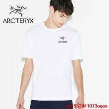New Original Brand ARCTERYX T Shirt Men Tops Summer Short Sleeve Fashion T-shirt 100% Cotton Mans Tshirt 1AX1(China)
