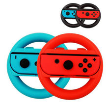Joycon jogo de corrida de direção alça de volante suporte para nintend switch ns joy-con controlador gamepad aperto de mão suporte