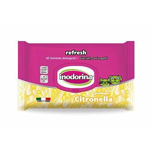 Inodorina Citron Wipe.