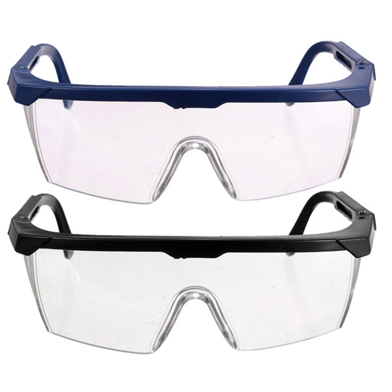 1PC Work Safety Protective Glasses Impact-Resistant Wind Dust Proof Safety Goggles For Chemical Research Cycling Riding Welding
